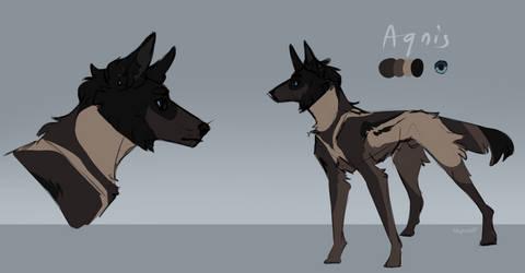 Agnis | Fursona | Sketch reference