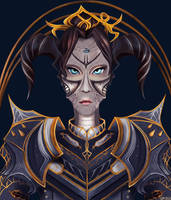 dark Warrior by Varagka