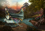 Magical Sunset by Varagka