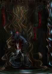 Tsaesci - Snake queen by Varagka