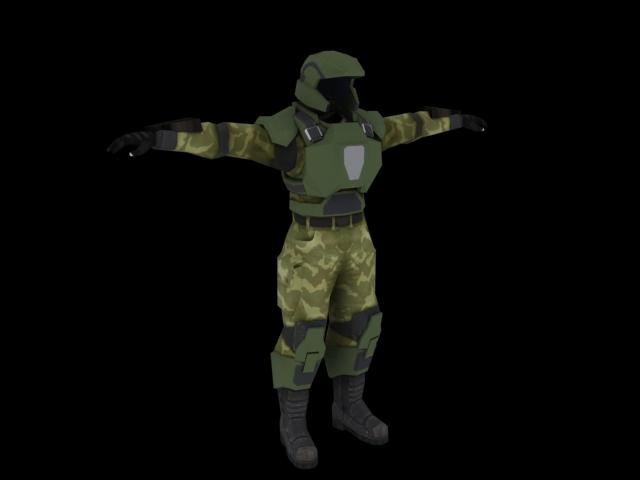 Halo 3 Marine WIP 2 by Robotlouisstevenson on DeviantArt