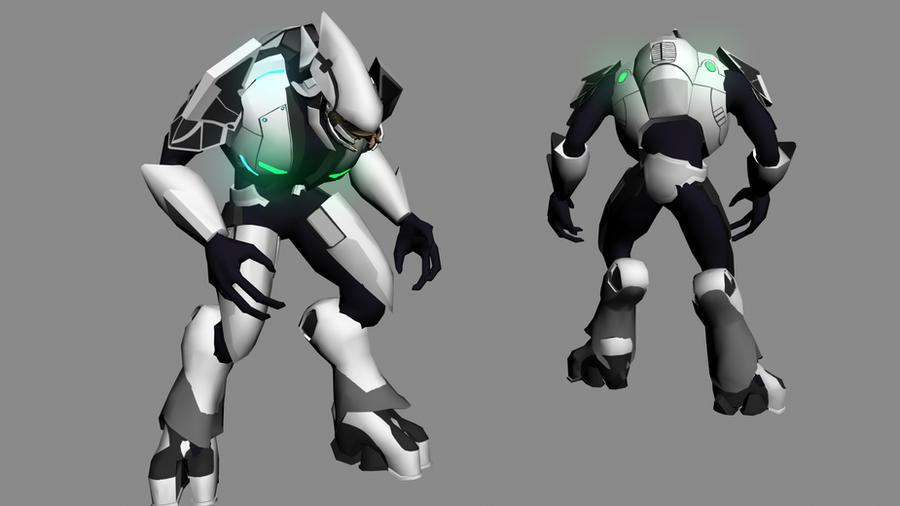 Halo 3 Elite WIP 2 by Robotlouisstevenson