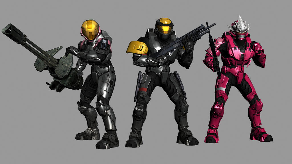 Halo 3 Group by Robotlouisstevenson