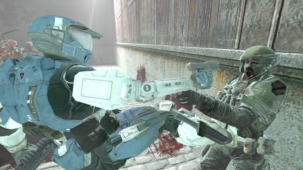 Halo SFM test by Robotlouisstevenson