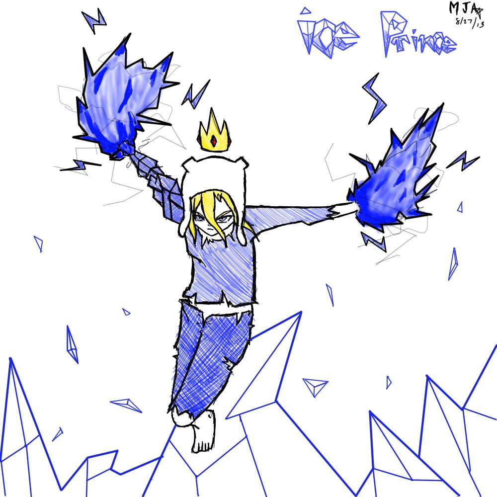 Ice Prince by michaelaquino000