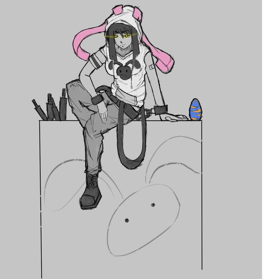 Anihood original character series by michaelaquino000