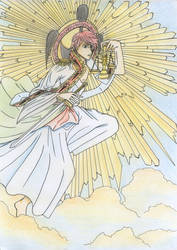 Angel of Justice, Naldiattuv by ARSONicARTZ