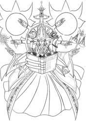 Universal God    uncoloured by ARSONicARTZ