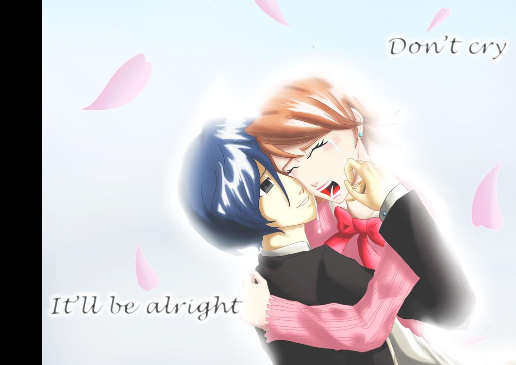 Yukari and Minato by ARSONicARTZ