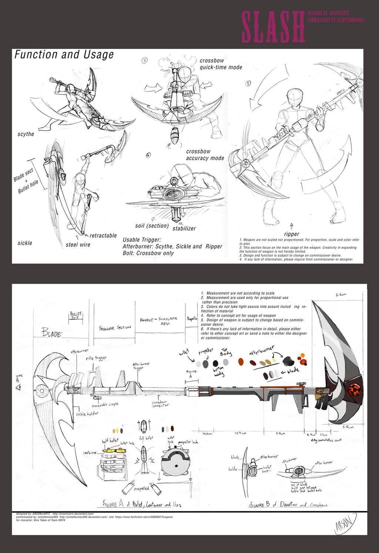 Commission- SLASH design by ARSONicARTZ