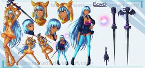 Commission- Echo by ARSONicARTZ