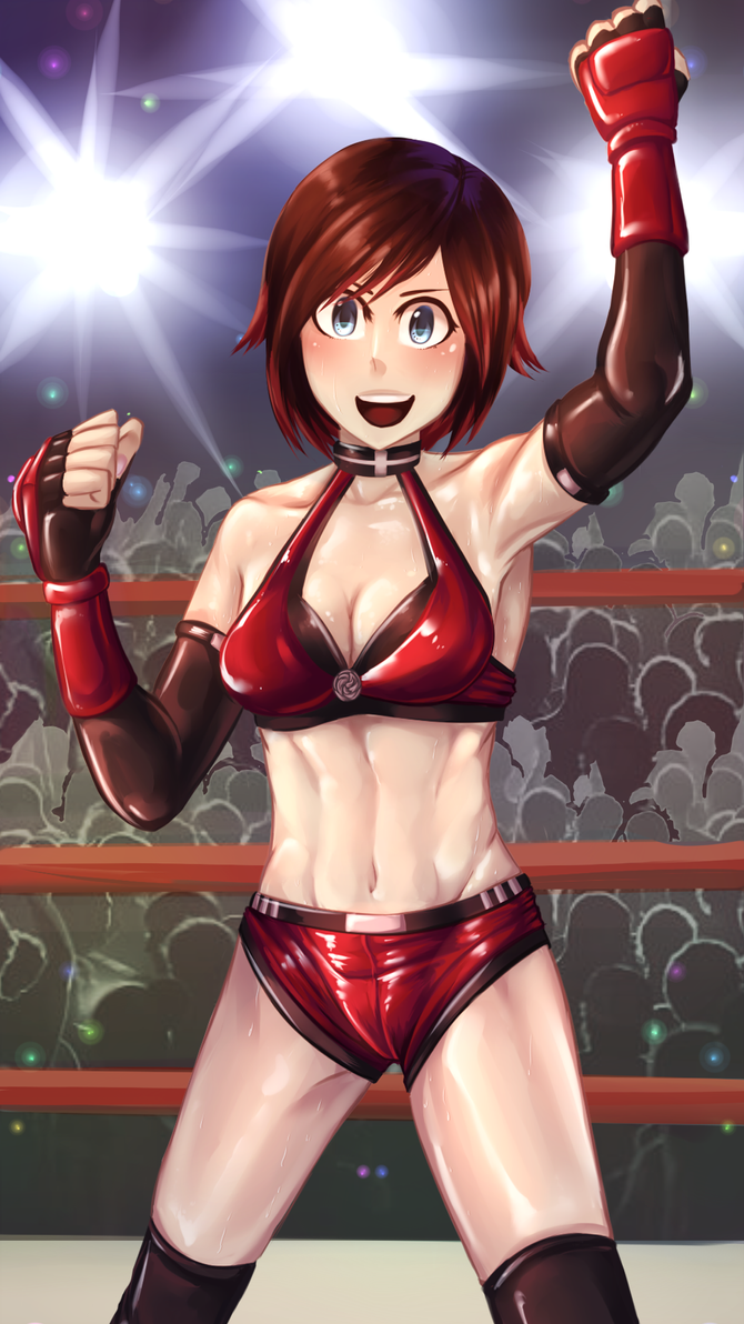 Wrestling Costume: Ruby Rose by ARSONicARTZ