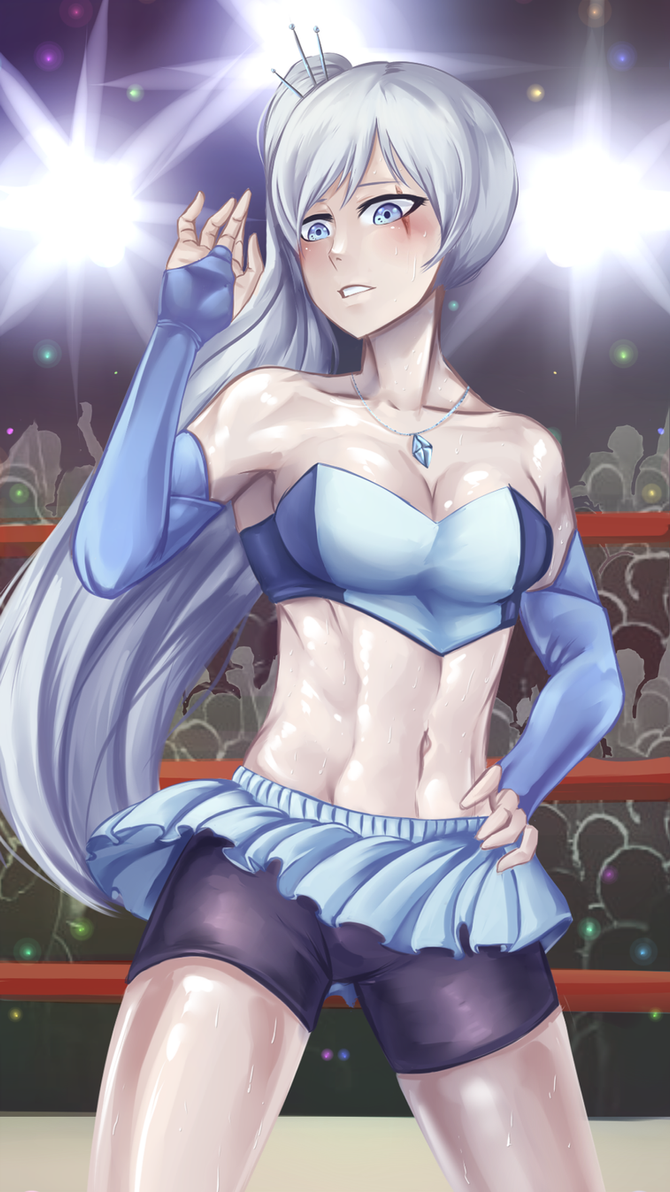 Wrestling Costume: Weiss Schnee by ARSONicARTZ