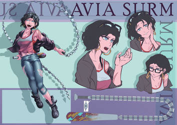 Commission: Avia Surm by ARSONicARTZ