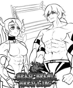 Beast Brawl Wrestling- Charlend vs Titan