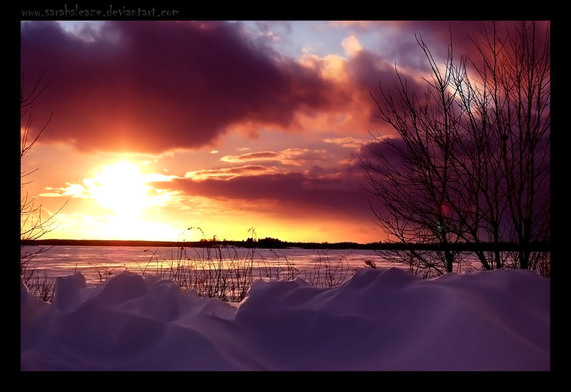 Jellybean Sunset by Sarah--Lynne