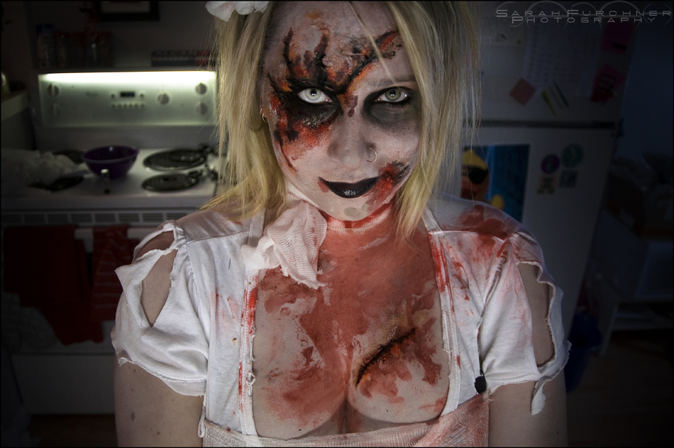 Kitchen Zombie by Sarah--Lynne