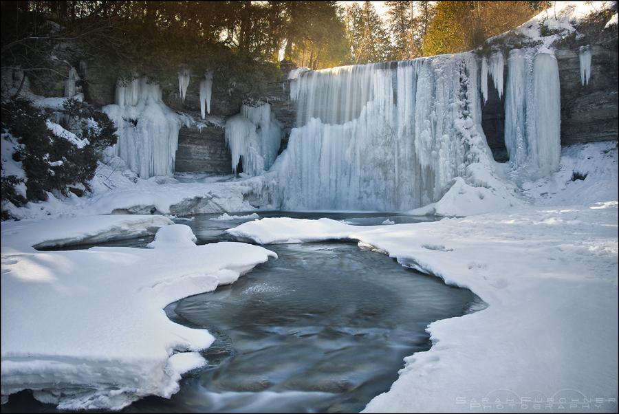 Cascading Ice by Sarah--Lynne