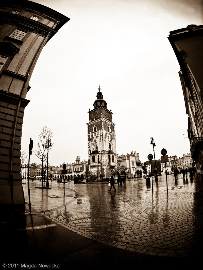 Krakow Fisheyed by schelly