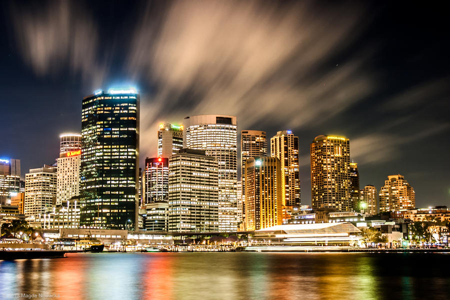 Sydney Lights by schelly