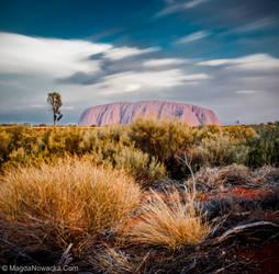 Uluru by schelly