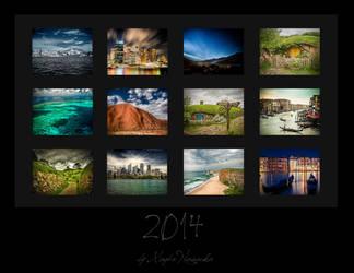 Calendar 2014 by schelly