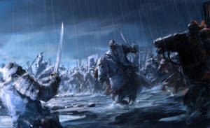 Battle at Tedorigawa by ryomablood