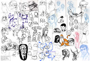 Sketchdump - Foil by moth-eatn