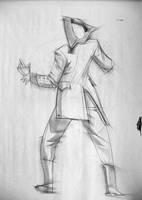 Gesture Drawing - Hit by moth-eatn