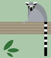 Charley Harper Lemur by moth-eatn