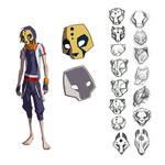 Runner - Hero Mask Designs