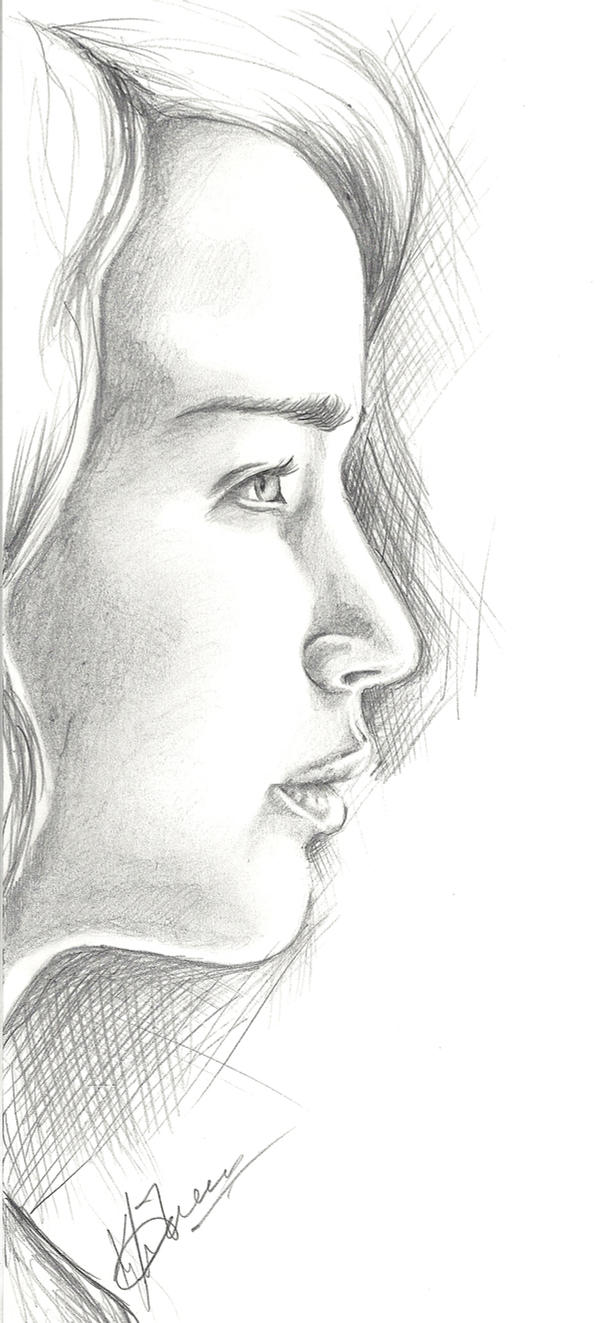 Katniss by Phantom-Chick