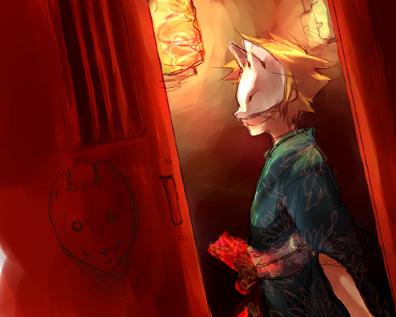 Kitsune by mayuchan