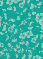 Aquamarine blossoms - free to use by amberwillow