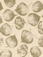 Goldy Leaf Print - free to use by amberwillow