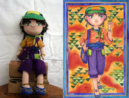 Ozias Plush doll by amberwillow