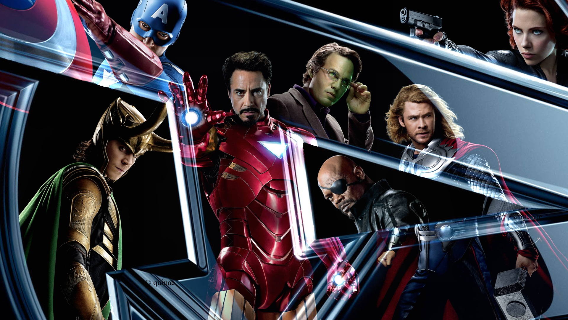 Avengers Wallpaper by Allexaire on DeviantArt