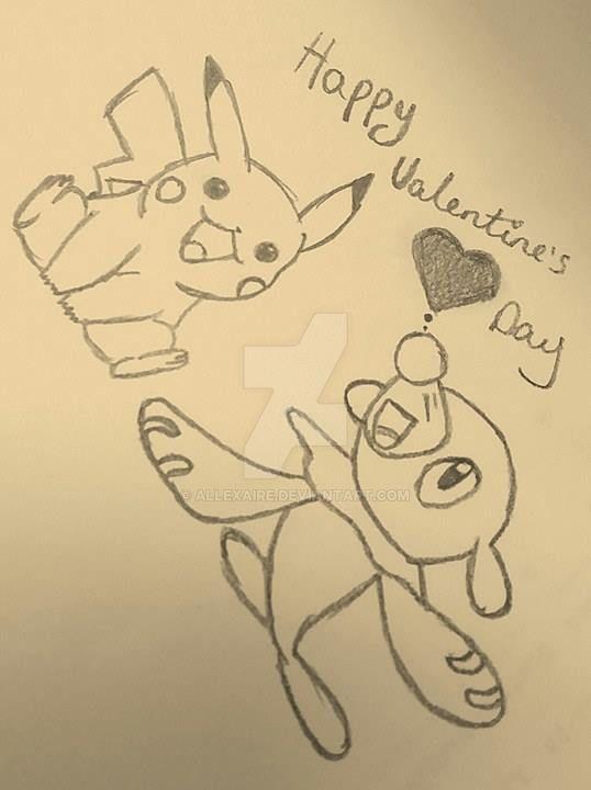 Happy Valentine's Day. by Allexaire
