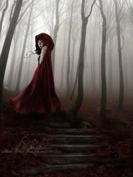 -Little Red- by BlackRibbonRose