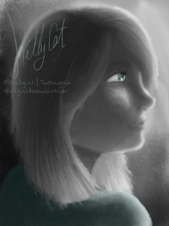 Teal by SkellyCat