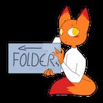 Look in the folders