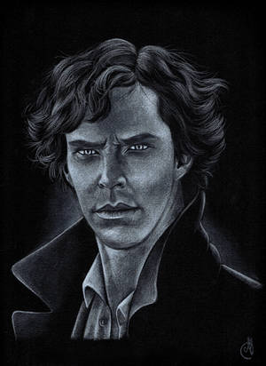 Sherlock, The hounds of Baskerville by Melnia