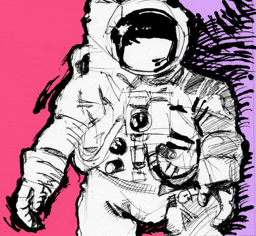 Astronaut (Pink/Purple) by azltron on deviantART
