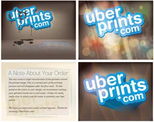 Uber Prints Marketing Cards by tomqvaxy