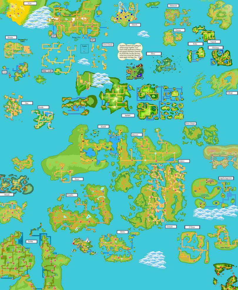 Pokemon World Map by Zeemo71 on DeviantArt