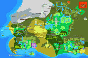 Map of Greater Hyrule by Likonium and Zeemo71
