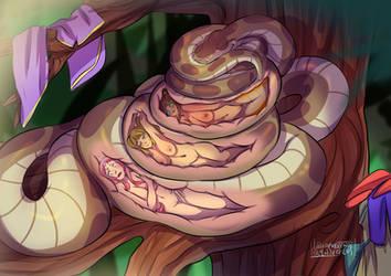 Treetop Banquet by SwankyPajamas