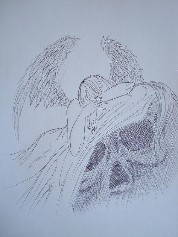 Sad Angel Sketches Sad Angel Sketch Sad Angel