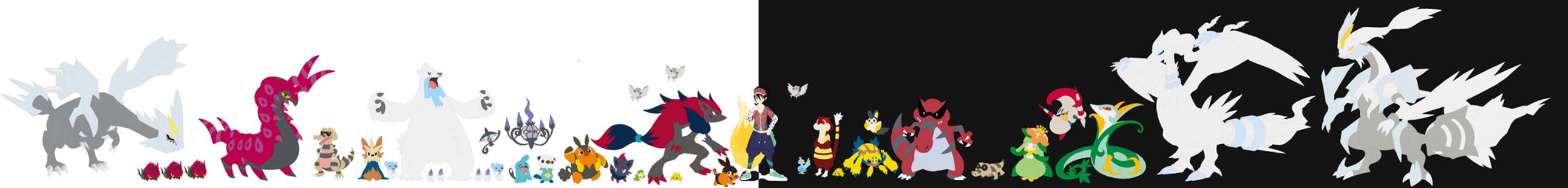 Felix's Unova Team by FelixNFox