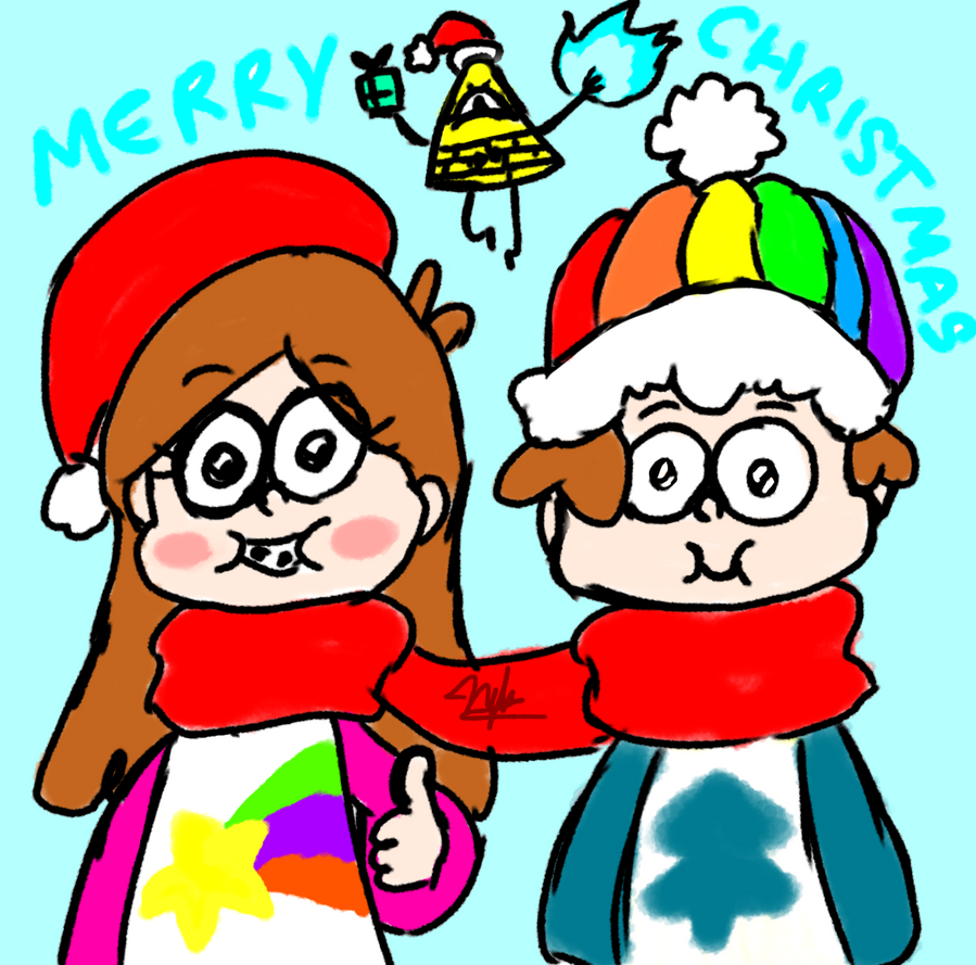 Dipper and Mabel  by Amysteryfan
